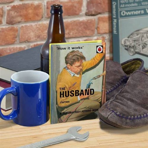Personalised The Husband: A Ladybird Book